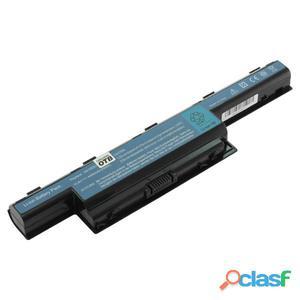 Bateria para Acer Aspire 4520, 4551, 4741, Litio Ion negro