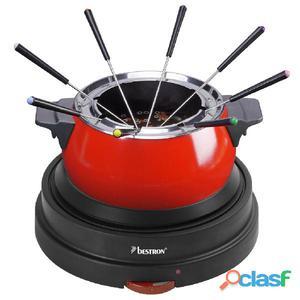 Bestron Set de fondue 9 piezas 1500 W 1,4 L DFD20R