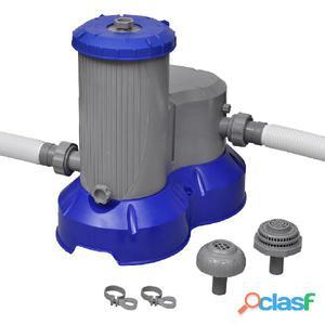 Bestway Bomba de filtración para piscina 2500 gal/h, 58391