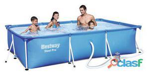 Bestway Piscina Splash Frame 300x201x66 Cm y Depuradora