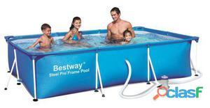 Bestway Piscina Splash Frame y Depuradora 300x201x66 Cm