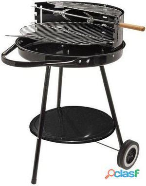 Bigbuy Barbacoa De Carbón Con Doble Nivel Bbq Classics 44