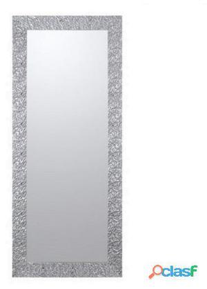 Bigbuy Espejo marco arrugas plata 80 kg