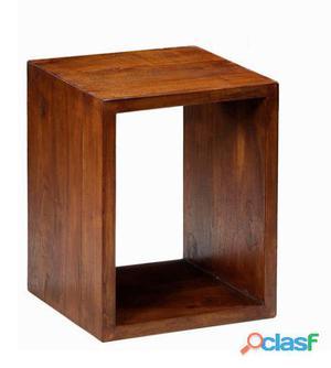 Bigbuy Estante cuadrado de madera - Colección Serious Line