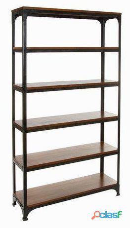 Bigbuy Estantería madera y metal Colección Franklin