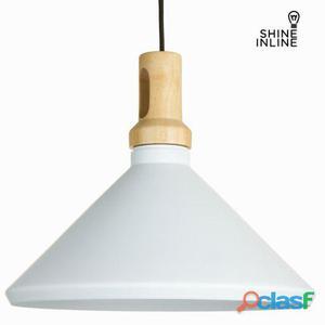 Bigbuy Lámpara de techo blanca by Shine Inline 45 kg