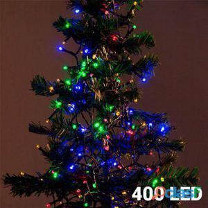 Bigbuy Luces de Navidad Multicolor 400 LED