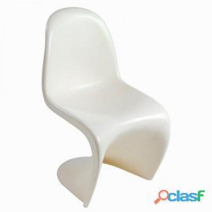 Bigbuy Silla de diseño curve blanca by Craften Wood 87 kg