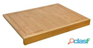 Bigbuy Tabla de Corte Encimera Bambú 1.35 kg