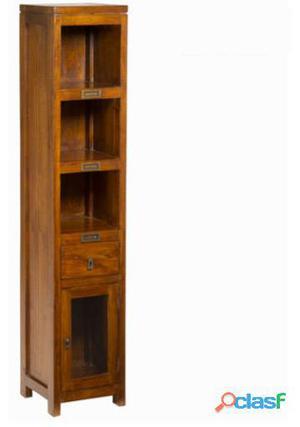 Bigbuy Vitrina 1 cajón y puerta - Colección Serious Line