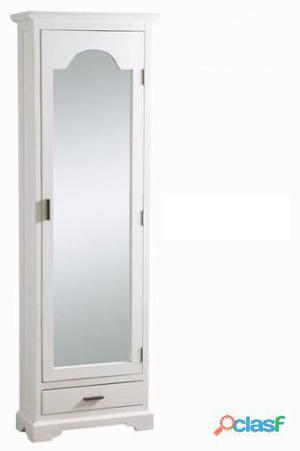 Bigbuy Zapatero con puerta de espejo - Colección Serious