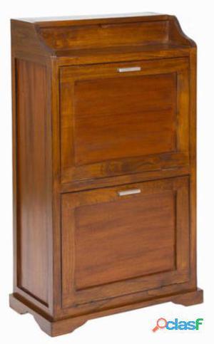 Bigbuy Zapatero de 2 compartimentos - Colección Serious