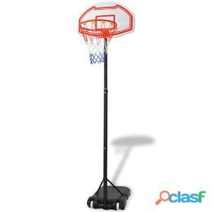 Canasta de baloncesto portátil 210 cm