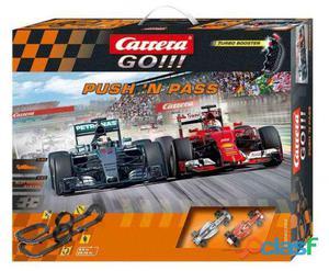 Carrera Push 'N Pass (Mercedes F1 W06 + Ferrari Sf15-T) 8,9M