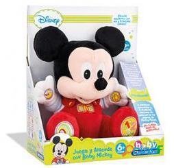 Clementoni Peluche Educativo Baby Mickey