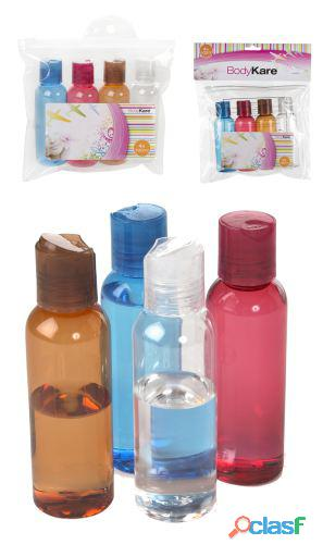 Colorbaby Set Viaje Neceser Y 3 Botellas 22X30X25 200 gr
