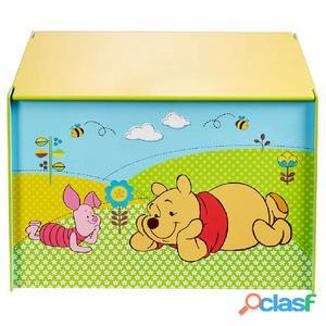 Disney Caja juguetes Winnie the Pooh 60x40x40 madera azul