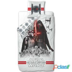 Disney Juego funda de edredón Star Wars 200x140 cm blanco
