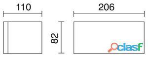 Dopo Aplique Isora Ip65 26W G24 D3 Gris 2.05 kg