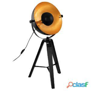 EGLO Lámpara de mesa COVALEDA negro y cobrizo 49617