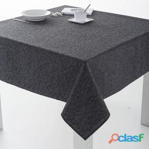 ES-TELA Mantel Resinado Burgos color Gris 100x140 cm