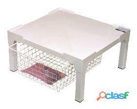 Electrolux Pedestal blanco con cajón 11.24 kg