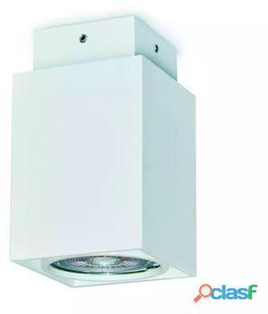Exo Plafón Cubi Gu10 50W Ip20 10Cm Blanco 350 gr