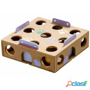 FLAMINGO Caja esconde juguetes y snacks para gato Smart Cat