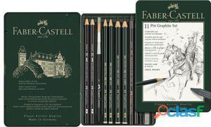 Faber Castell Estuche Faber Dibujo Grafito 11 Piezas 180 gr