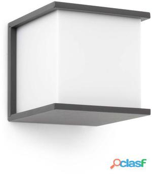 Faro Bcn Aplique Kubick 1 Luz E27 60W Gris Oscuro 1.21 kg
