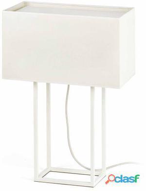 Faro Bcn Sobremesa Vesper Blanco E27 20W 3.15 kg