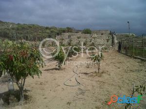 Finca con frutales y tanque de agua en Guimar