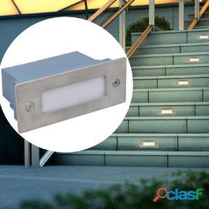 Foco LED empotrable para escaleras 44 x 111 56 mm