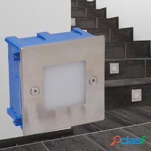 Foco LED empotrable para escaleras 85 x 48 mm