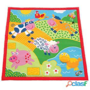 Galt Toys Granja alfombra de juego grande 100x100 cm