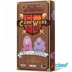 Hora de aventuras: card wars - princesa chicle contra