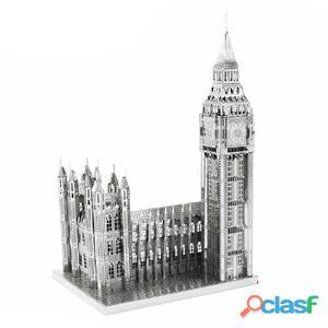 ICONX Kit de modelo a escala 3D cortado láser Big Ben