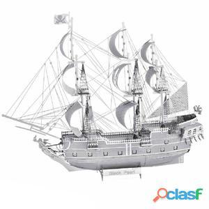 ICONX Kit de modelo a escala 3D cortado láser Black Pearl