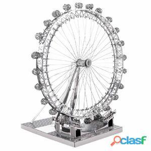 ICONX Kit de modelo a escala 3D cortado láser London Eye