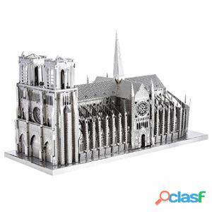ICONX Kit modelo a escala 3D cortado láser Notre Dame de