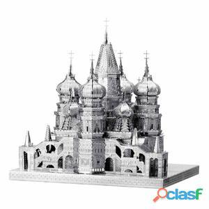 ICONX Kit modelo escala 3D cortado láser St. Basil's