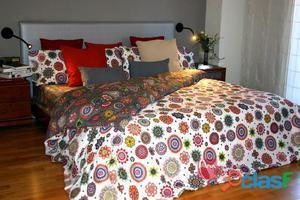 Juego de sábanas estampado