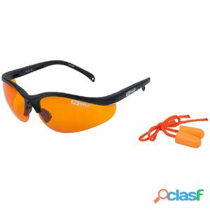 KS Tools Gafas de seguridad con tapones para los oídos