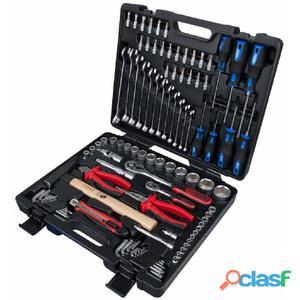 KS Tools Juego de herramientas universal con vasos y puntas