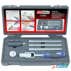 KS Tools Juego de montaje lavabos 6 piezas 116.2050