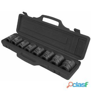 "KS Tools Set de llaves vaso impacto hexagonales 3/4"""