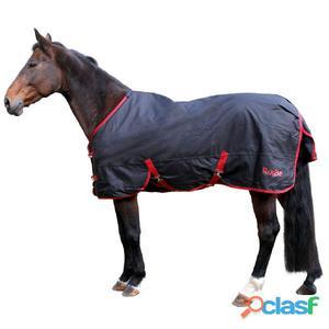 Kerbl Manta para caballo RugBe Zero.1 negra 85 cm 328660