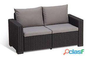 Keter California Set Sofa 2 Plazas 209475