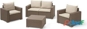 Keter Set California (Sofa 2 Plazas) 20 kg