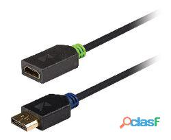 König Cable Adaptador Displayport Hdmi 0,20 m 49 gr